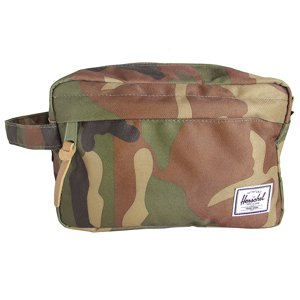 Herschel Supply Company Chapter Travel Kit, Woodland Camo|Multi Zip