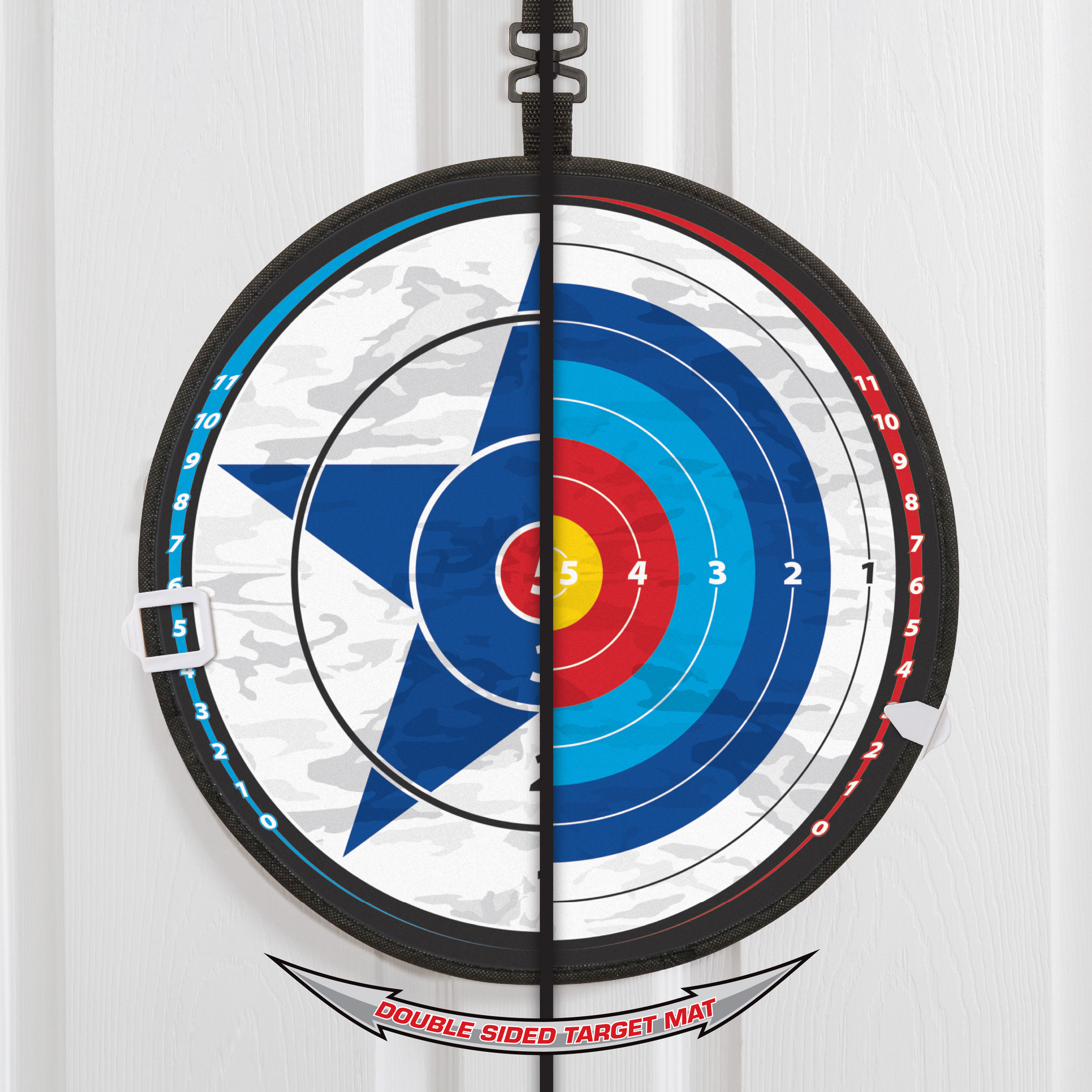 Majik Over the Door 2-in-1 Target Shooting and Archery Challenge by Eastpoint Sports