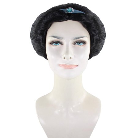 Arabian Princess Wig, Black Adult HW-1630