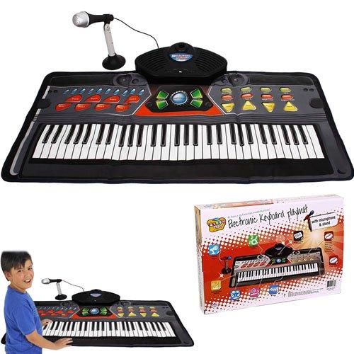 Kids Piano Electronic Keyboard Playmat - 61 Keys + 36 Function Modes Electronic Keyboard Playmat