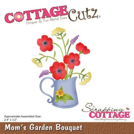 """Cottagecutz Die-Mom's Garden Bouquet 2.4""""X3.2"""" - image 1 de 1"""