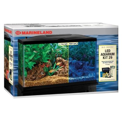 Marineland (Aquaria) Amlpfk29B Biowheel Aquarium Kit With ...