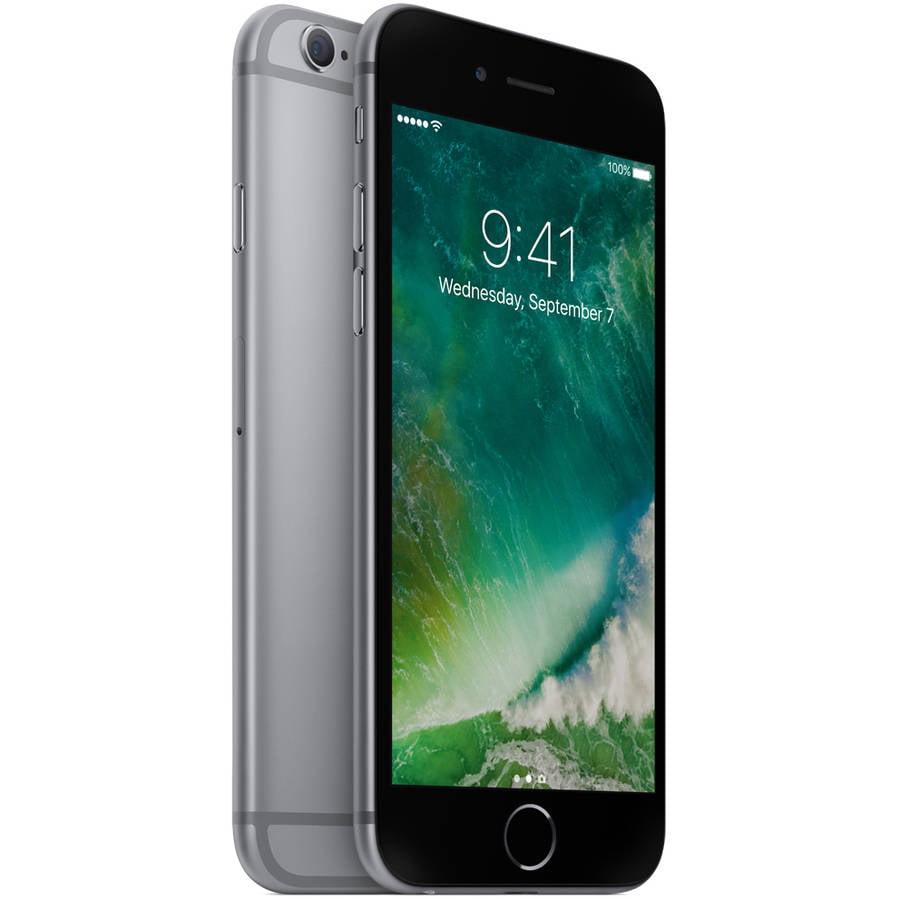 Straight Talk Apple iPhone 6S 16GB Prepaid Smartphone, Space Gray