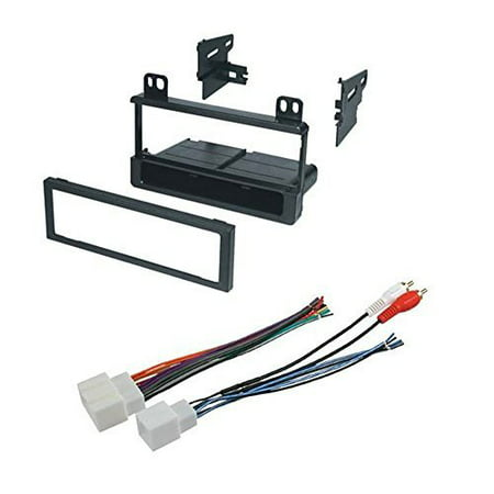 ford 1995 - 2005 explorer (all models) car radio stereo radio kit dash  installation mounting wiring harness - walmart com