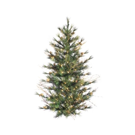 4 39 x 40 pre lit country mixed pine artificial christmas for Country living artificial christmas trees