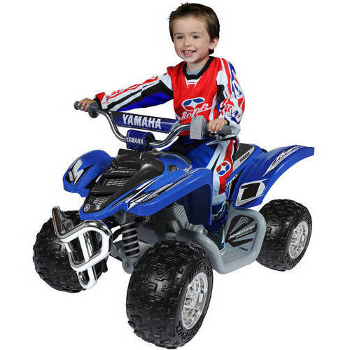 Yamaha Raptor ATV 12-Volt Battery-Powered Ride-On ...