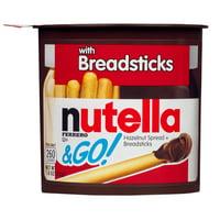 Nutella & Go Hazelnut Spread & Breadsticks, 1.8 oz