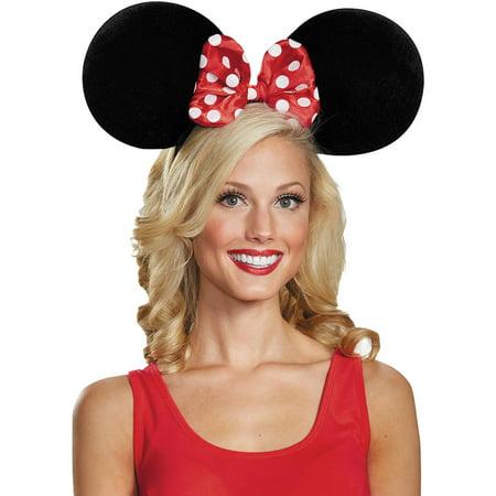 Oversized Minnie Mouse Ears Adult Halloween Accessory - Halloween Makeup Tutorial Princess