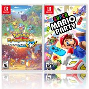 Nintendo Pokemon Mystery Dungeon: Rescue Team DX Bundle with Super Mario Party