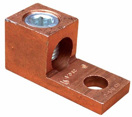 Morris Products One Conductor Extruded Copper Connector