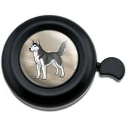 Siberian Husky Pet Dog Bicycle Handlebar Bike Bell