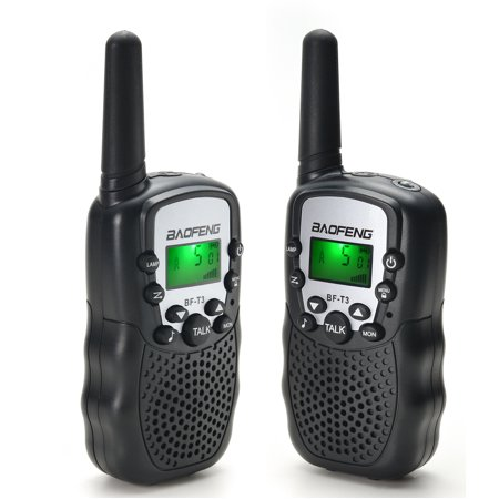 Baofeng Walkie Talkies 22 Channels 2 Way Radio 3 Miles (Up to 5 Miles) FRS/GMRS Toy for Kids 2 Pack