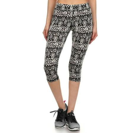 Junior's Teenagers Active Seamless Printed Capri Leggings Pants, S - Gru Outfit