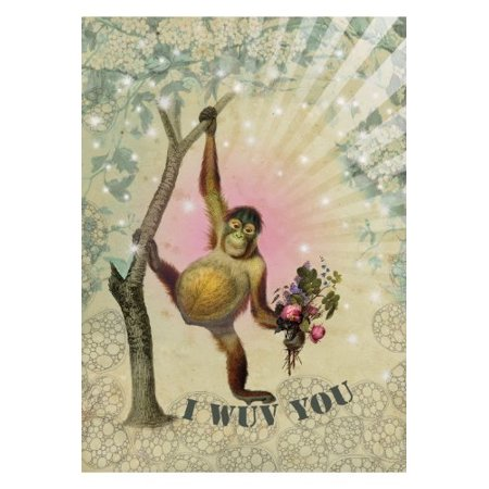 I wuv you greeting card by greeting card size 125 x 175 mm 5x7 i wuv you greeting card by greeting card size 125 x 175 mm m4hsunfo