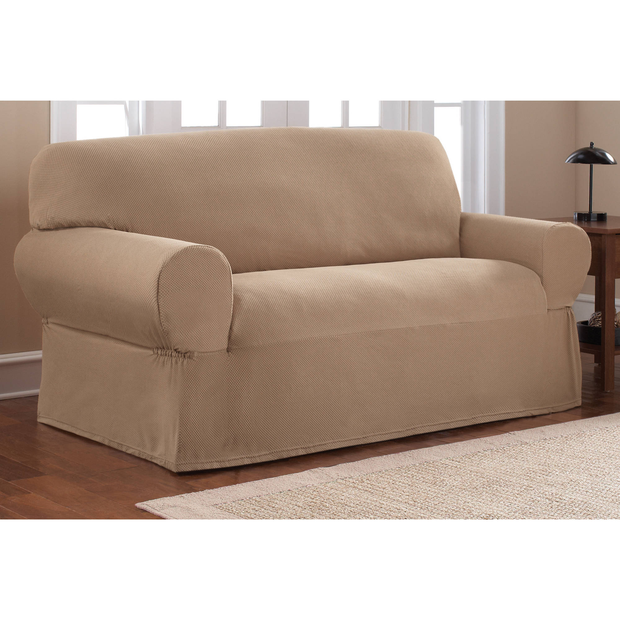 Sofa loveseat covers reclining loveseat slipcover adapted for dual recliner love seat thesofa Loveseat slip cover