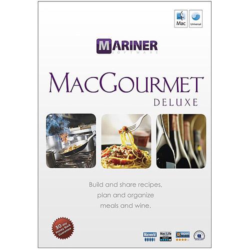 Mariner Software MacGourmet Deluxe 3.0 (Mac)