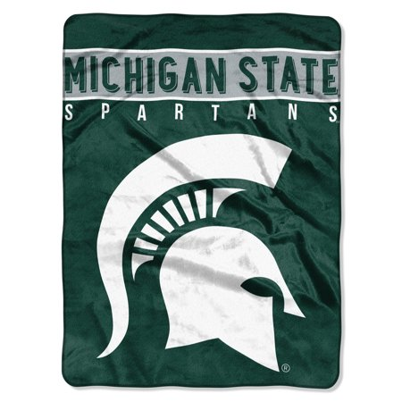 "Michigan State Spartans The Northwest Company 60"" x 80"" Basic Raschel Blanket - No Size"