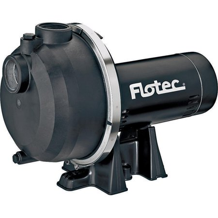 Flotec Fp5182 01 Heavy Duty Self Priming Sprinkler Pump  2 Hp  2 In Inlet  2 In Outlet  115 230 V  6