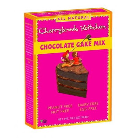 Cherrybrook Kitchen Chocolate Cake Mix Peanut Free 19 5