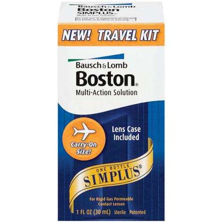 Boston  Simplus Travel Kit Multi Action Solution  1 Fl Oz