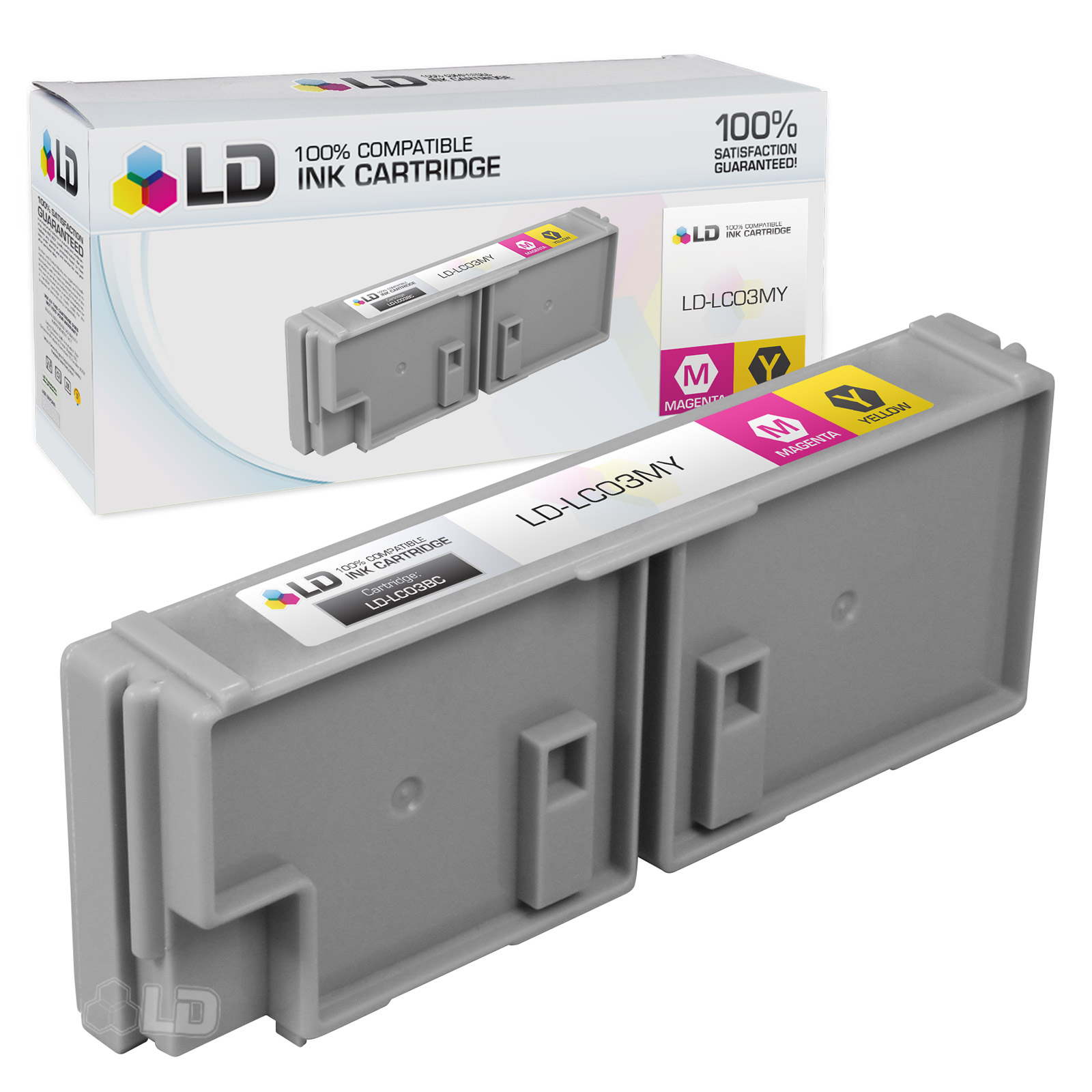 LD Brother Compatible LC03MY Magenta / Yellow Ink cartridge. (LC03 Series)