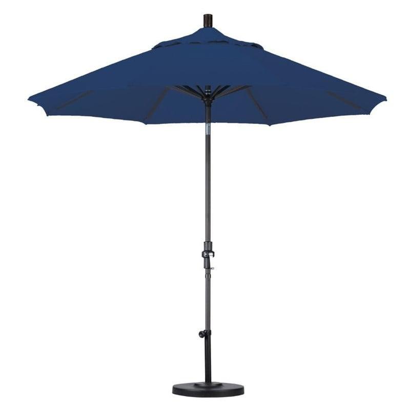 California Umbrella 7.5' Market Patio Umbrella in Sapphire