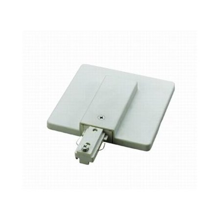 Cal Lighting HT-300 Live End with Junction Box Cover for HT Track