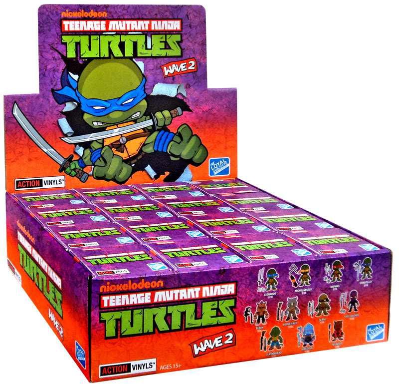 Teenage Mutant Ninja Turtles Series 2 Vinyl Figure Mystery Box [16 Packs]