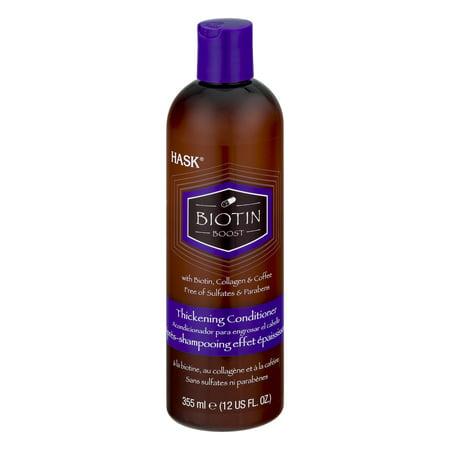 HASK Biotin Boost with Biotin, Collagen & Coffee Thickening Conditioner, 12
