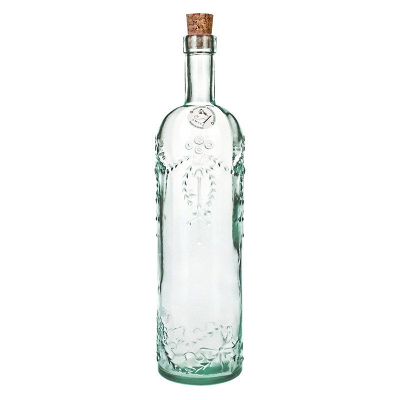 Global Amici Cordoba Recycled Glass Bottle - Set of 2