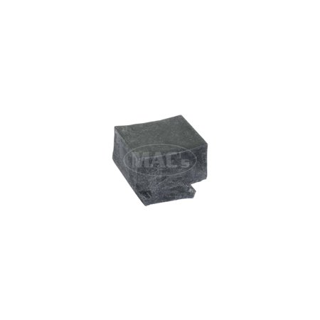 MACs Auto Parts Premier  Products 66-27304 - Ford Thunderbird Lower Door Glass Stop, Bumper ()