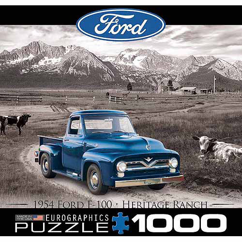 EuroGraphics 1954 Ford F-100 1000-Piece Puzzle