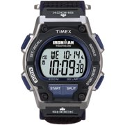 Men's Ironman Endure 30 Shock Full-Size Watch, Black Fast Wrap Strap