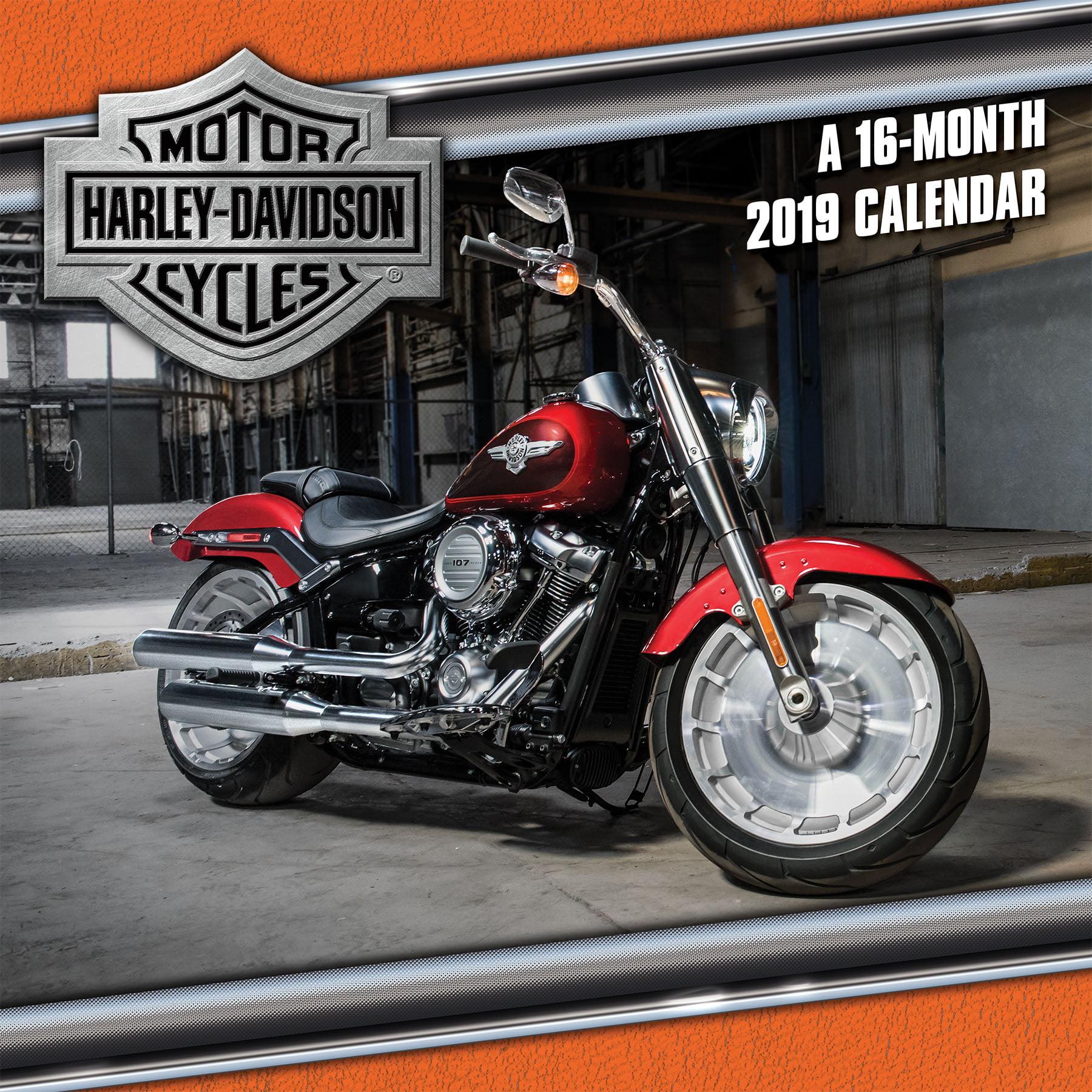2019 Harley-Davidson Wall Calendar by Trends International