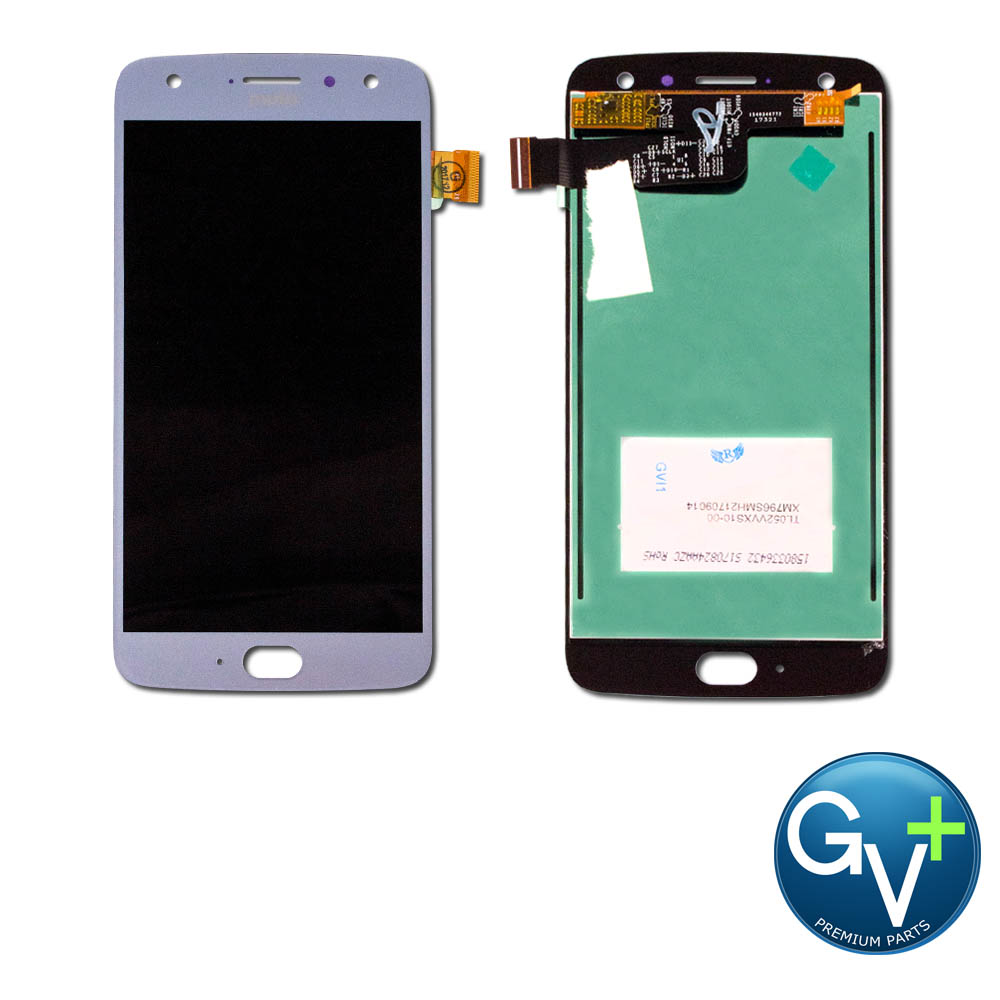 "OEM Touch Screen Digitizer and LCD Front Display Assembly for Sterling Blue Moto X4 XT1900-01 (4.7"")"