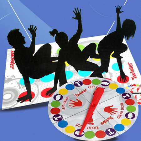 Twister Board Game Children Adult Moves Play Mat Multiplayer Parent-child Interactive Educational Toy Outdoor Sports Party