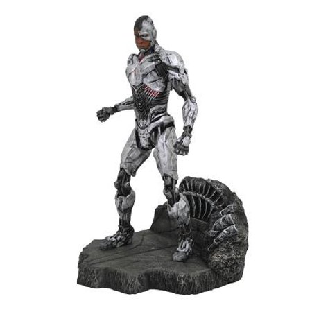 Diamond Select Toys DC Gallery: Justice League Movie Cyborg Pvc Figure 1/6 Pre Painted Pvc Figure