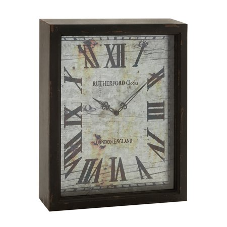 Lovely And Rustic Wood Wall Clock ()