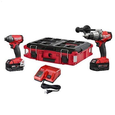 Milwaukee M18 Fuel 18 Volt Lithium Ion Brushless Cordless Hammer Drill Impact Driver