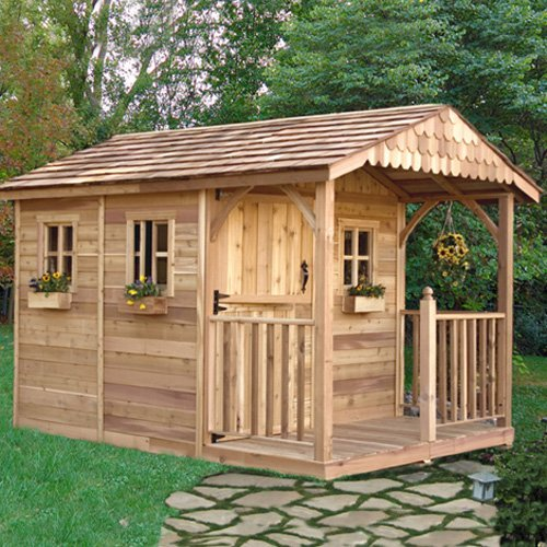 Outdoor Living Today SR812 Santa Rosa 8 x 12 ft. Garden Shed