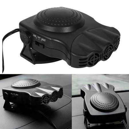- HURRISE 12V 150W Portable Car Heating Cooling Fan Heater Defroster Demister Windscreen Demister