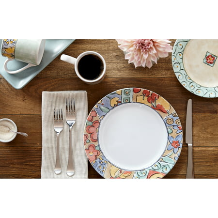 Corelle Impressions Watercolors 16-Piece Dinnerware