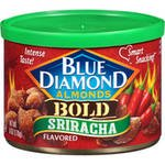 Blue Diamond Almonds Bold Sriracha Flavored Almonds, 6 Oz. (Taylor Of Old Bond Almond)