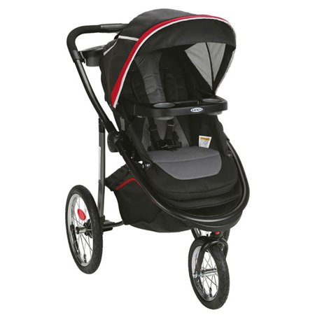 - Graco Modes Jogger Lightweight Folding Compact Customizable Stroller, Chili Red