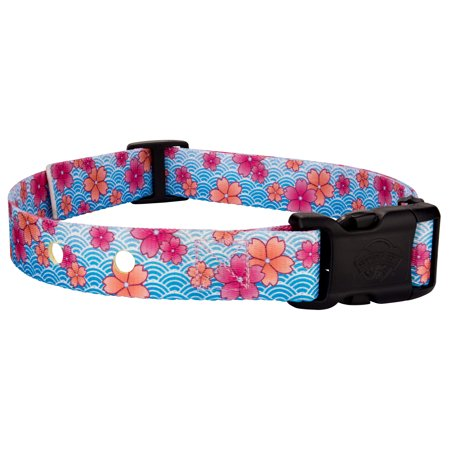 Country Brook Petz™ Pink April Blossoms Replacement Collar For Dog Fence Receivers