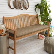 Humble and Haute Sunbrella Indoor/ Outdoor Textured Neutral 48-inch Bench Cushion
