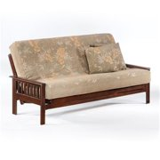 Night and Day Furniture Online LTRI-QEN-JAV Trinity Queen Futon Frame - Java