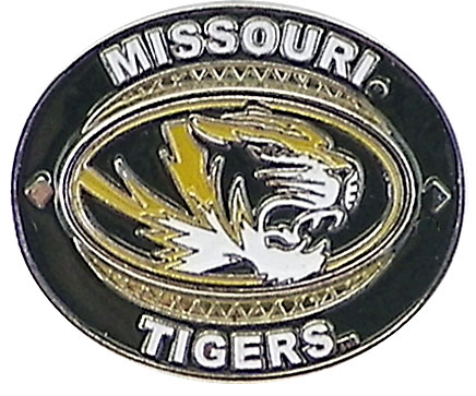 Missouri Tigers Oval Pin by