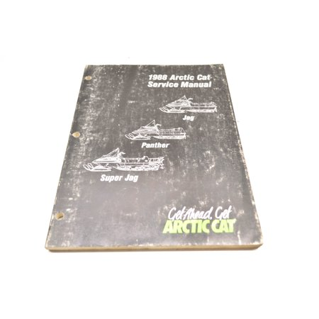 Car Service Manual - Arctic Cat 2254-452 1988 Super Jag Panther Service Manual QTY 1