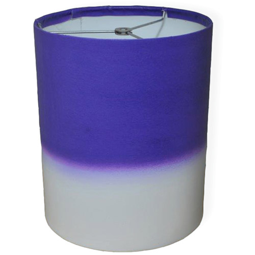 "10"" Drum Lampshade, Dark Purple Watercolor by Pro Tour Memorabilia, LLC"